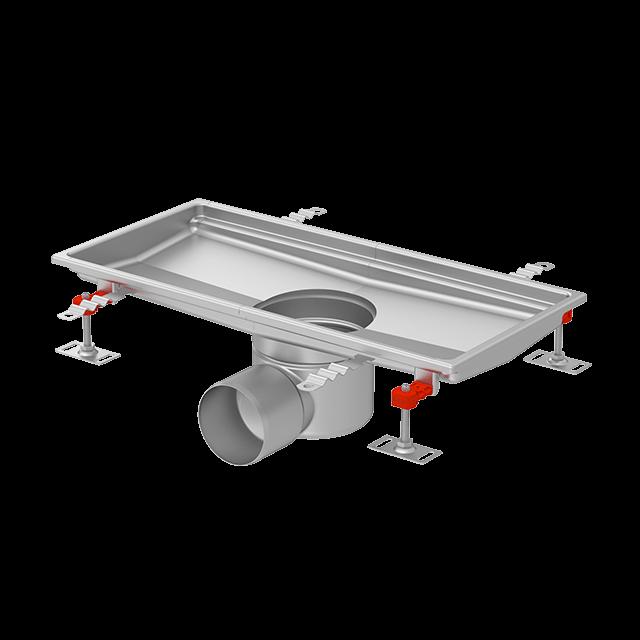 ACO higijenski Tray kanali sa fleksibilnim spojem na pod